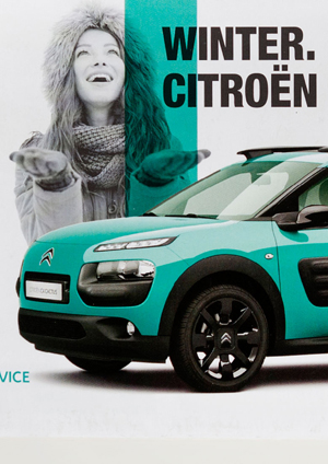 "Citroën Mailing ""Winter-Check"""