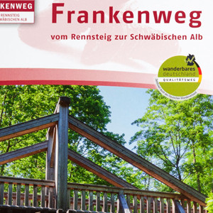 "Franken Tourismus Broschüre ""Frankenweg"""